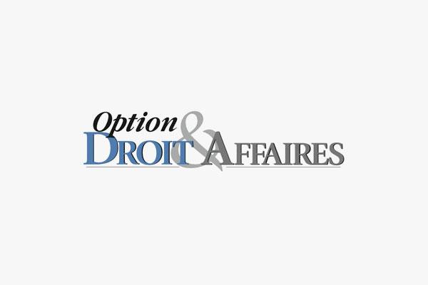 Option Droit Et Affaires